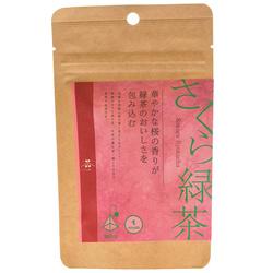 14381 chanomi green tea with sakura cherry blossom teabags