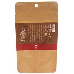 14383 chanomi genmaicha roasted brown rice tea with matcha  teabags