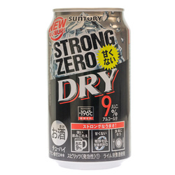 14450 suntory  196%cb%9ac strong zero dry chuhai spritzer