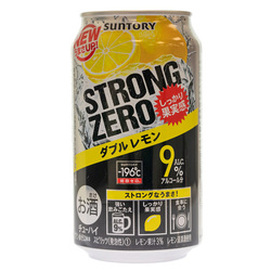 14453 suntory  196%cb%9ac strong zero double lemon chuhai spritzer