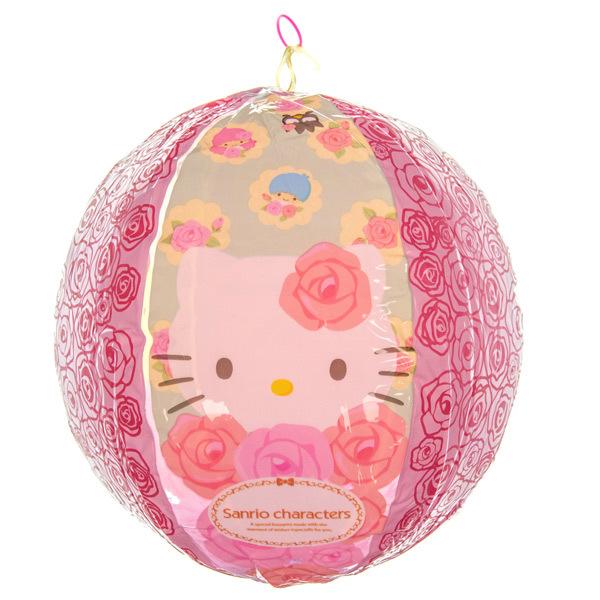 14403 sanrio hello kitty inflatable beach ball blown up