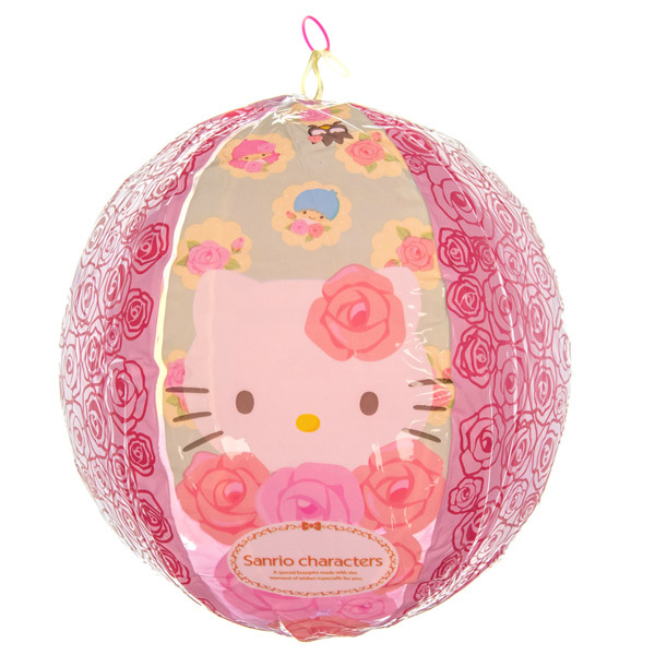 14403 sanrio hello kitty inflatable beach ball blown up