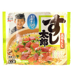 14445 nagatanien gomoku chirashi rice mix with brown rice vinegar