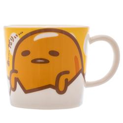 14421 sanrio gudetama ceramic mug   face pattern