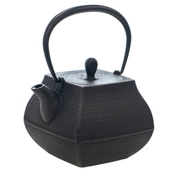 14429 itchu do cast iron tea pot  top view