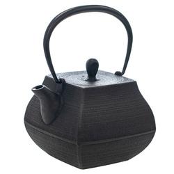 14429 itchu do cast iron tea pot  top view