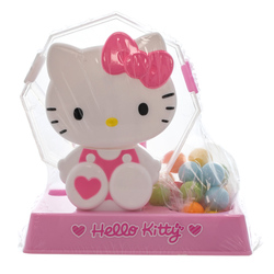 14531 sanrio hello kitty rotary candy dispenser with gumballs