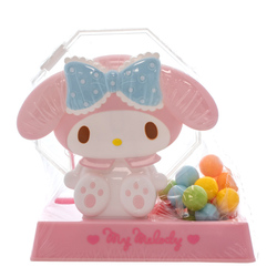 14535 sanrio my melody rotary candy dispenser with gumballs