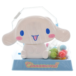 14537 sanrio cinnamoroll rotary candy dispenser with gumballs