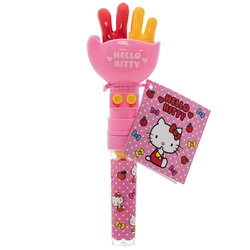 14542 sanrio hello kitty rock paper scissors toy with gumballs