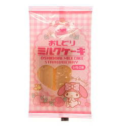 14551 sanrio my melody oshidori strawbwerry flavoured milk candy