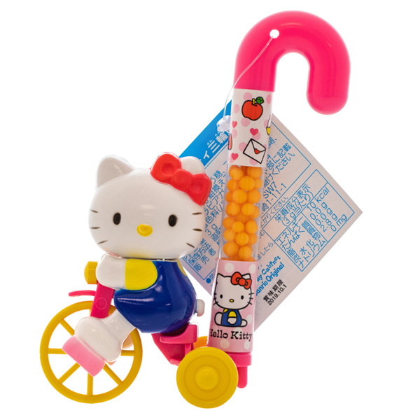 14532 sanrio hello kitty tricycle toy with sweets