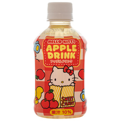 14530 sanrio hello kitty apple drink