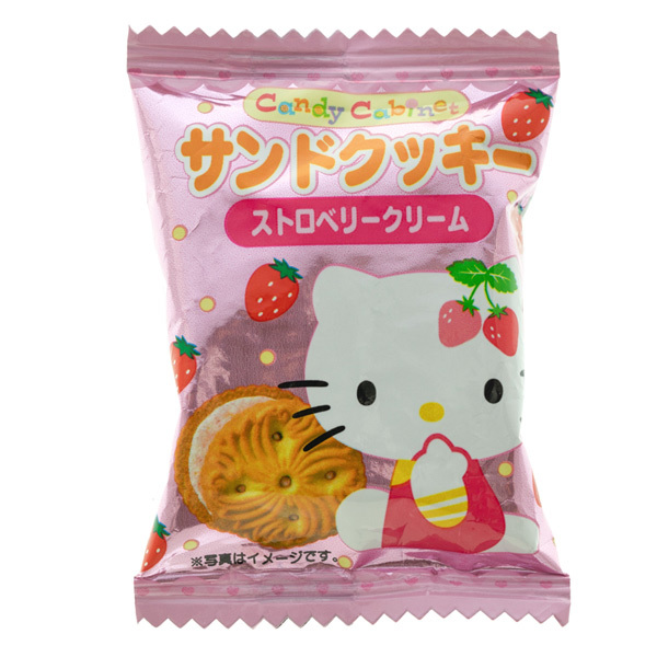 14556 sanrio hello kitty strawberry cream sandwich biscuits
