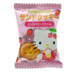 14556 sanrio hello kitty strawberry cream sandwich biscuits