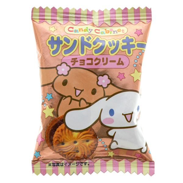 14557 sanrio cinnamoroll chocolate cream sandwich biscuits