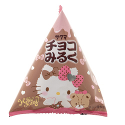 14526 sanrio hello kitty chocolate milk flavoured hard boiled sweets