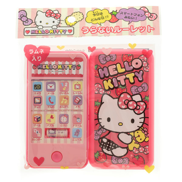 14541 sanrio hello kitty smartphone toy with ramune tablet candies