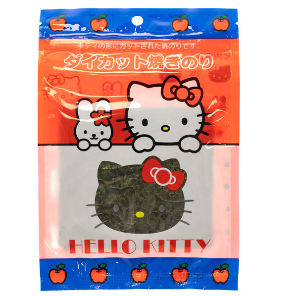 14544 sanrio hello kitty die cut nori seaweed character cut out sheets