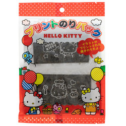 14547 sanrio hello kitty printed nori seaweed snack sheets