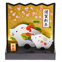 14517 sanrio greetings zodiac pig 2019 pop up card