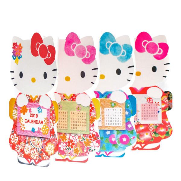 14511 sanrio greetings hello kitty kimono 2019 calendar card