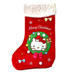 14602 sanrio hello kitty christmas stocking