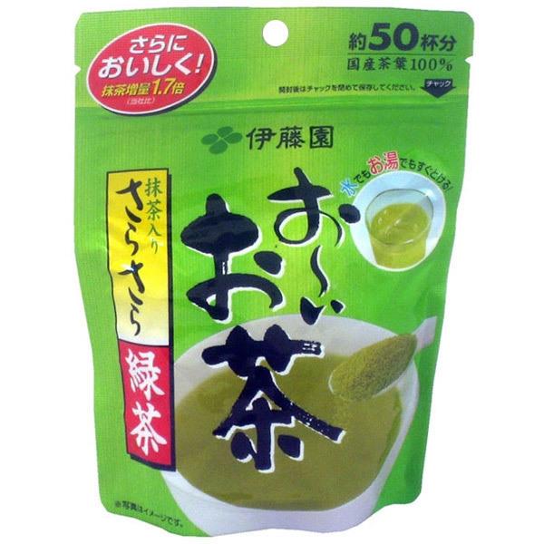 2278 itoen powdered ooi ocha green tea with matcha