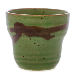 14515 ceramic tea cup   light asparagus green