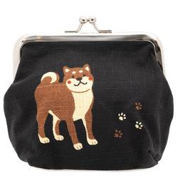 14586  cheeky shiba japanese purse