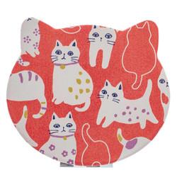 14589  japanese compact folding mirror  cat design