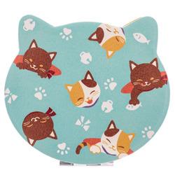 14590 happy cat compact mirror