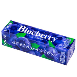 14615 lotte blueberry chewing gum