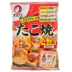 14618 otafuku takoyaki mix set with toppings