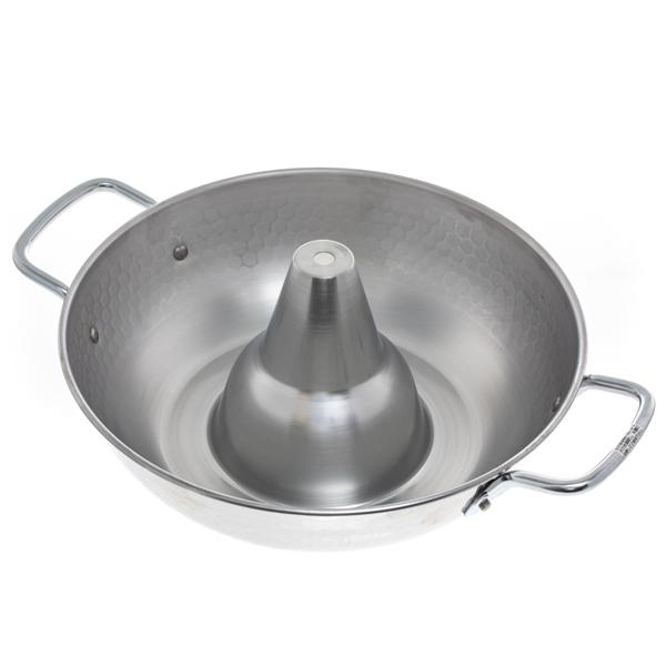 14605 metallic shabu shabu japanese cooking pot above