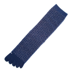 14584 men's japanese toe socks  navy blue  unfolded