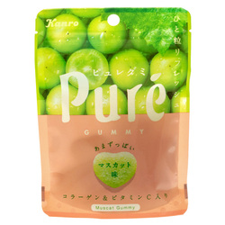 14651 kanro pure muscat grape flavoured gummy candy