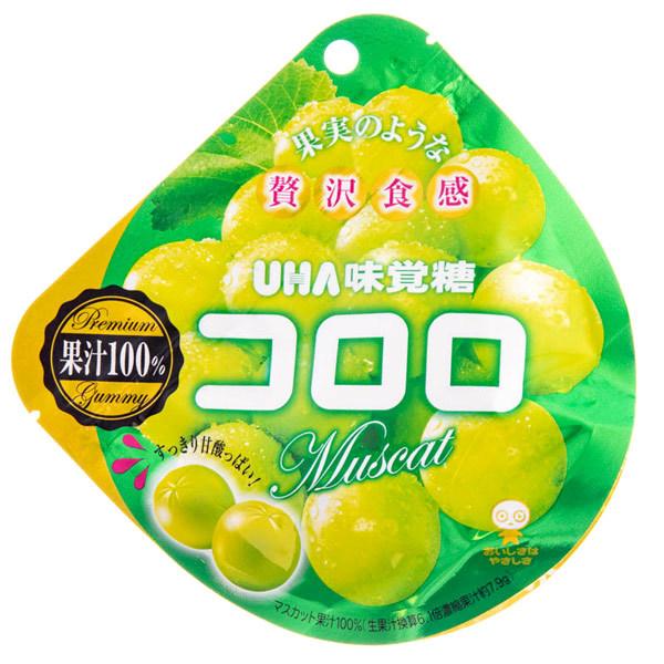14661 mikakuto kororo muscat grape flavoured gummy