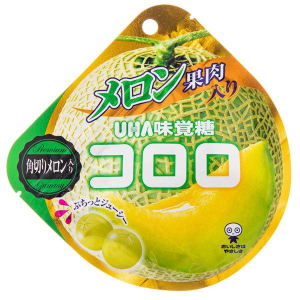 14663 mikakuto kororo melon flavoured gummy