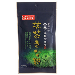 14675 ueman kinako roasted soybean flour with matcha green tea