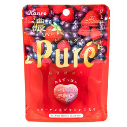 14650 kanro pure mixed berry flavoured gummy candy