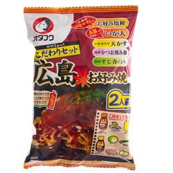 14628 otafuku hiroshima style okonomiyaki mix set with toppings