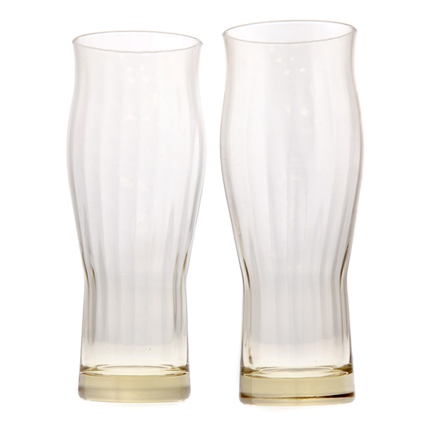 14680 beer glass set with wooden box
