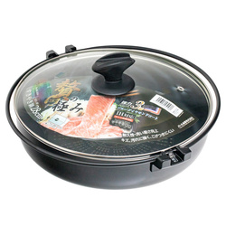 14608 sukiyaki nabe cooking pan with handles %281%29