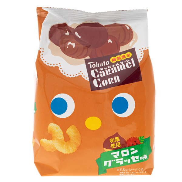 14671 tohato caramel corn candied chestnut snacks