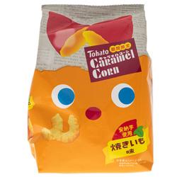 14672 tohato caramel corn baked sweet potato snacks