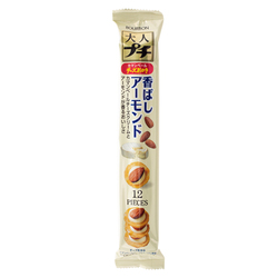 14667 bourbon otona puchi almond and cheese flavoured mini rice crackers
