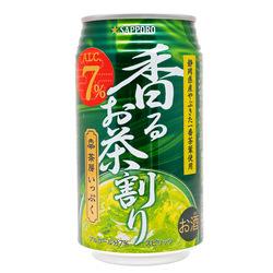 14676 sapporo green tea flavoured chuhai spritzer