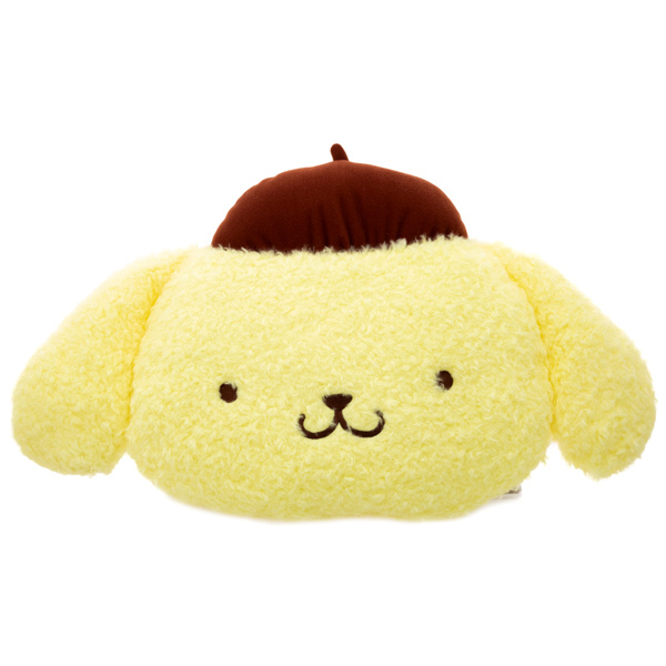 14704 sanrio pompompurin shaped pillow cushion