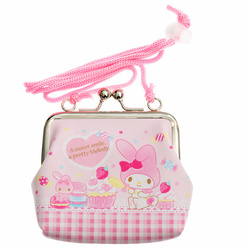 14734 sanrio my melody purse with ribbon